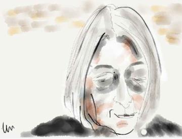 Jenny Diski illustration